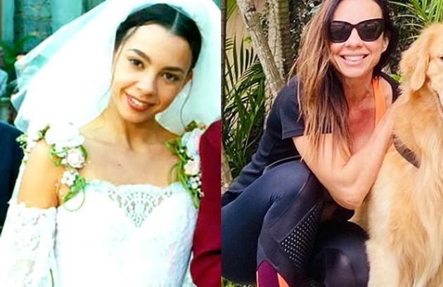 Carla Marins viveu a prostituta Dinorah. A atriz estava gravando 'Gênesis', da Record, quando a quarentena começou (Foto: TV Globo / Reprodução)