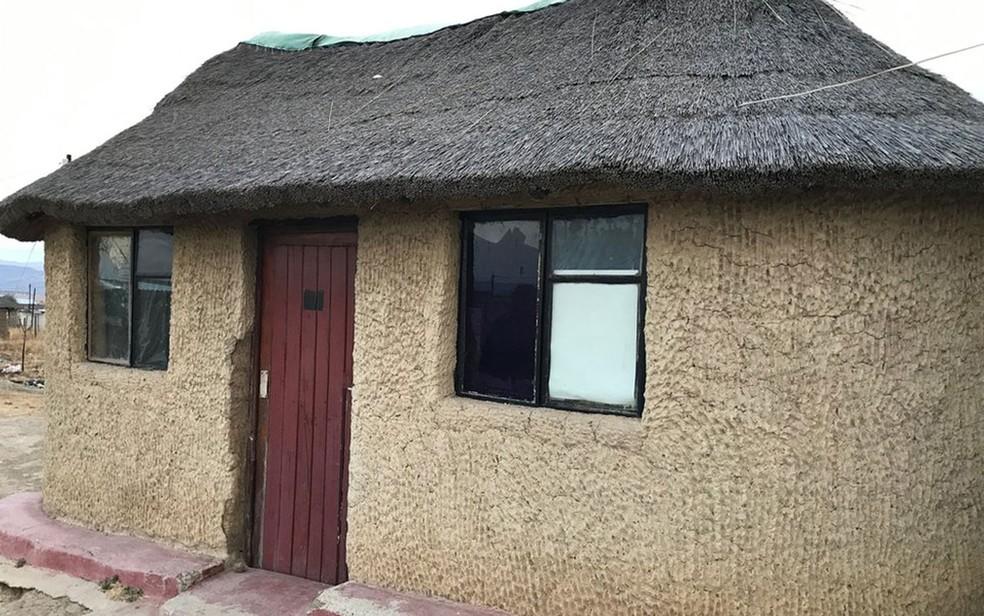 O curadeiro alugava uma casa do irmão de um de seus supostos cúmplices (Foto: BBC)