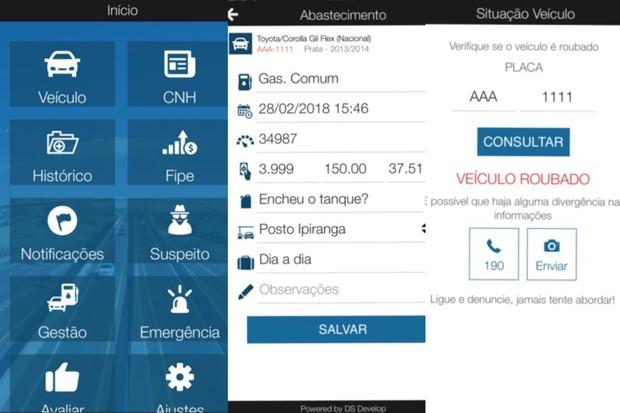 aplicativo utilcar (Foto: Reprodução/Internet)
