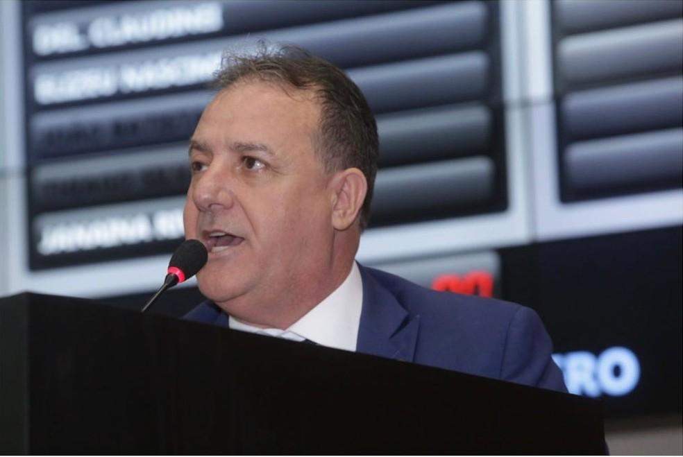 Silvio Fávero é um dos interessados na vaga de presidente da Mesa Diretora da ALMT — Foto: Ronaldo Mazza/ALMT