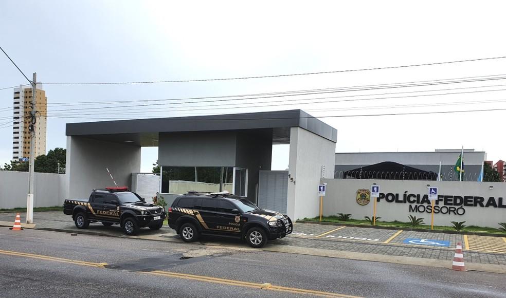Polícia Federal cumpriu mandados em Mossoró, Tibau e Grossos nesta quinta-feira (8) — Foto: PF/Divulgação