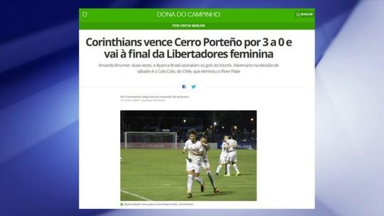 Corinthians vence e vai à final da Libertadores feminina