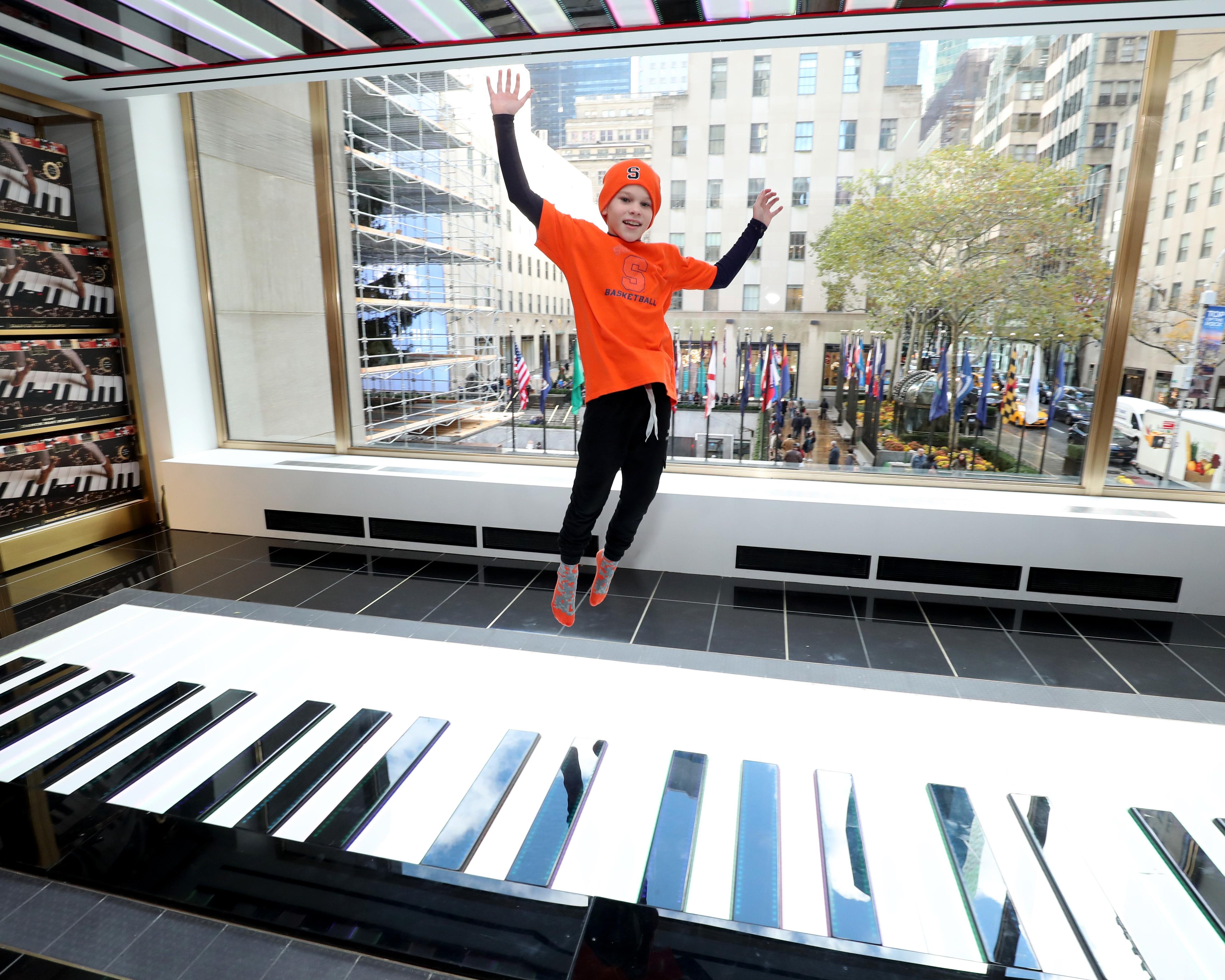 Piano do FAO Schwarz (Foto: Getty Images)