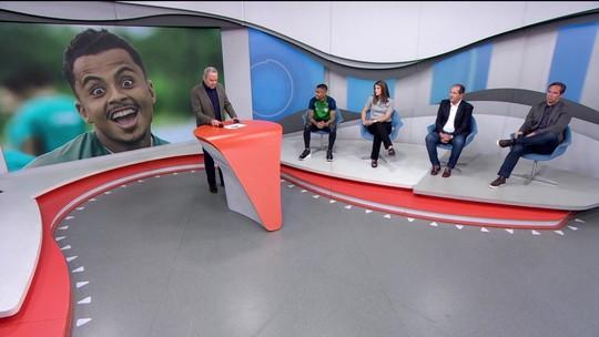 """Allan, do Fluminense, explica marcação """"com os olhos"""": """"Tentei intimidar"""""""