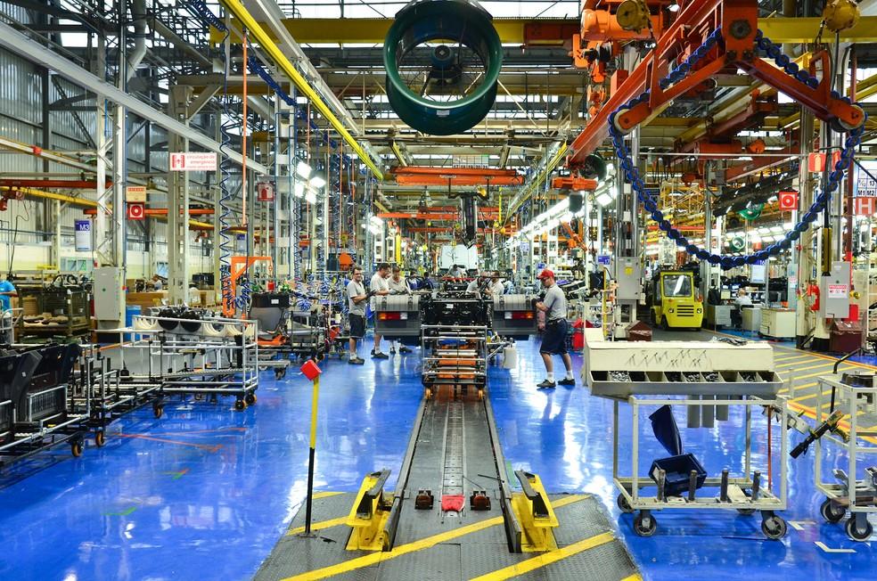 Setor de caminhões reage, mas indústria tem 75% de ociosidade (Foto: Mercedes-Benz/Divulgação)