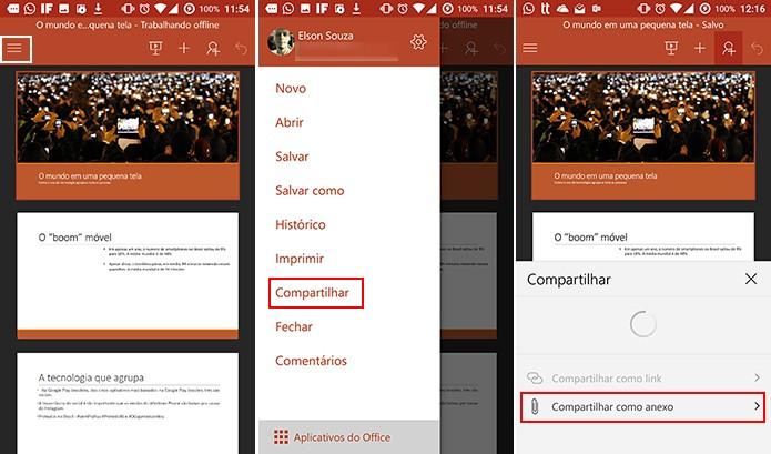 Usuário pode adicionar apresentação ao OneNote a partir do PowerPoint (Foto: Reprodução/Elson de Souza)