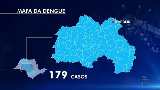 Epidemia de dengue faz Itápolis decretar situação de emergência