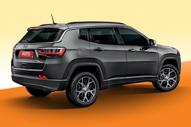 Segredos da Fiat - Vice-líder entre os SUVs, Compass receberá reestilização no segundo semestre deste ano, com mudanças concentradas na parte dianteira  (Foto: Projeções: João Kleber Amaral)