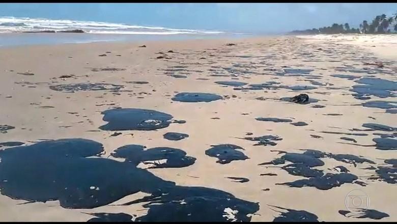 óleo, nordeste (Foto: Reprodução/TV Globo)