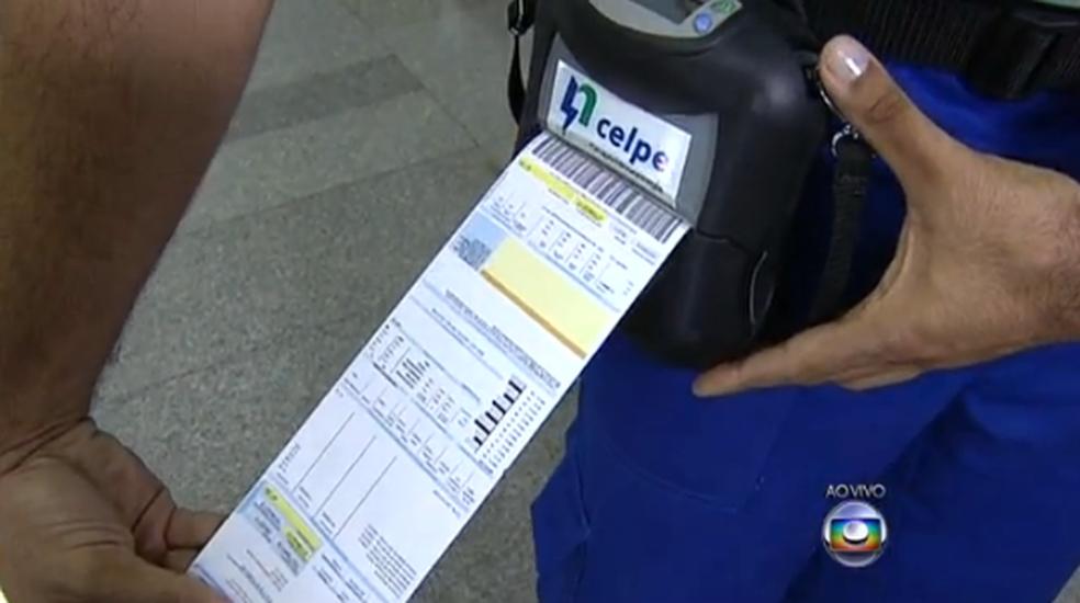 Conta de energia da Celpe ficará mais cara a partir de quinta-feira (29) — Foto: Reprodução/ Globo Nordeste