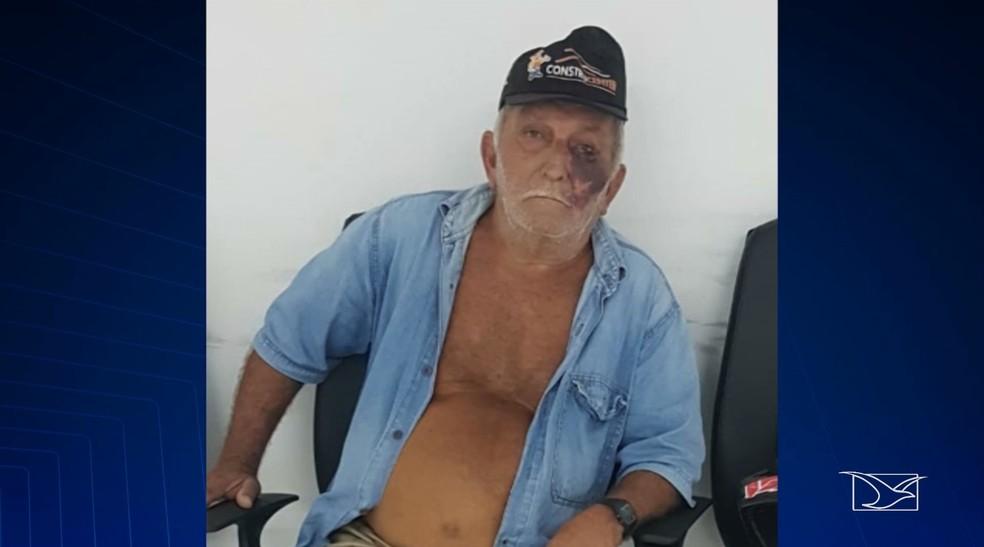 Oziel Roseno de Sousa, de 74 anos, foi  preso por suspeita de abuso sexual contra uma criança de sete anos no Maranhão — Foto: Reprodução/TV Mirante
