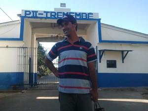 Companheiro de cela de Cabo Bruno (Foto: Renato Ferezim/G1)