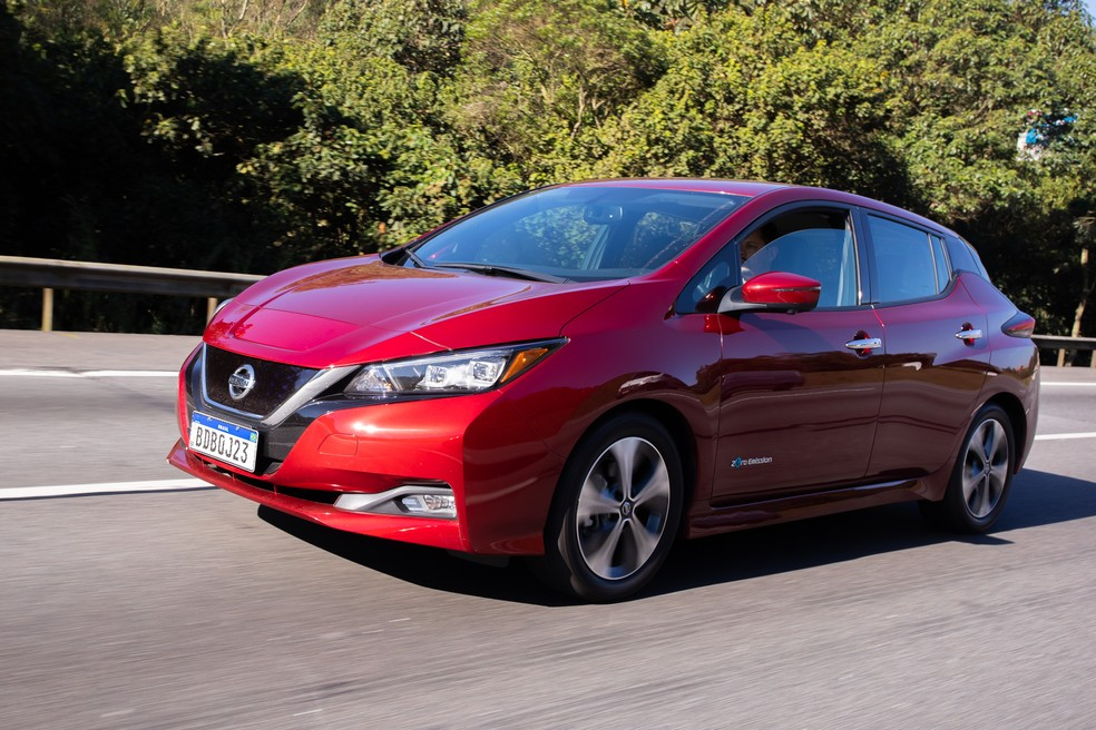 Nissan Leaf has 149 hp and 32.6 kgfm - Photo: Celso Tavares / G1