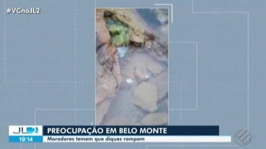 Vídeo mostra escoamentos da usina de Belo Monte e assusta moradores na Volta Grande do Xingu, no Pará