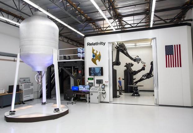 Stargate, a impressora 3D de metal da Relativity Space (Foto: Divulgação)