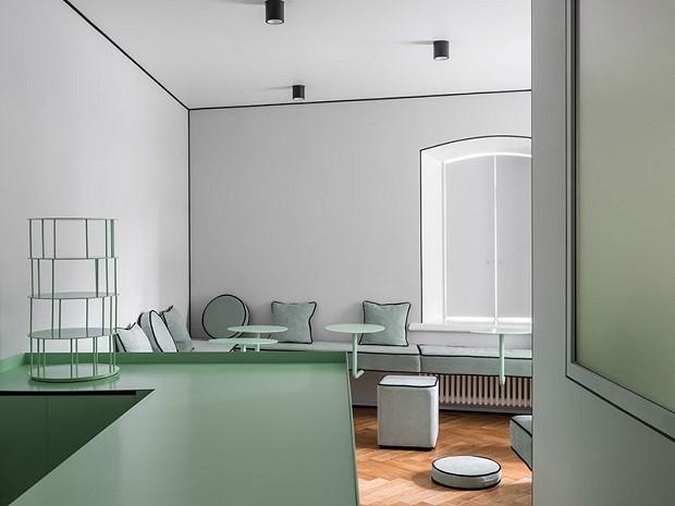 Estúdio de yoga minimalista e impressionante (Foto: Reprodução/Divulgação)