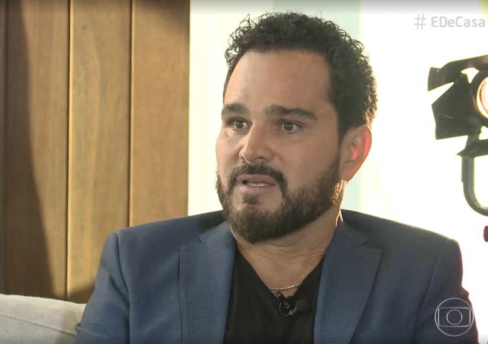 Luciano Camargo fala sobre boatos de fim da dupla com Zezé no 'É de Casa' — Foto: Globo