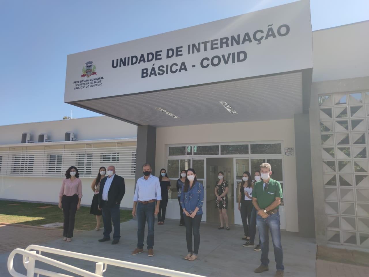 Unidade Básica de Saúde Anchieta terá 20 leitos de enfermaria para pacientes com Covid-19 em Rio Preto