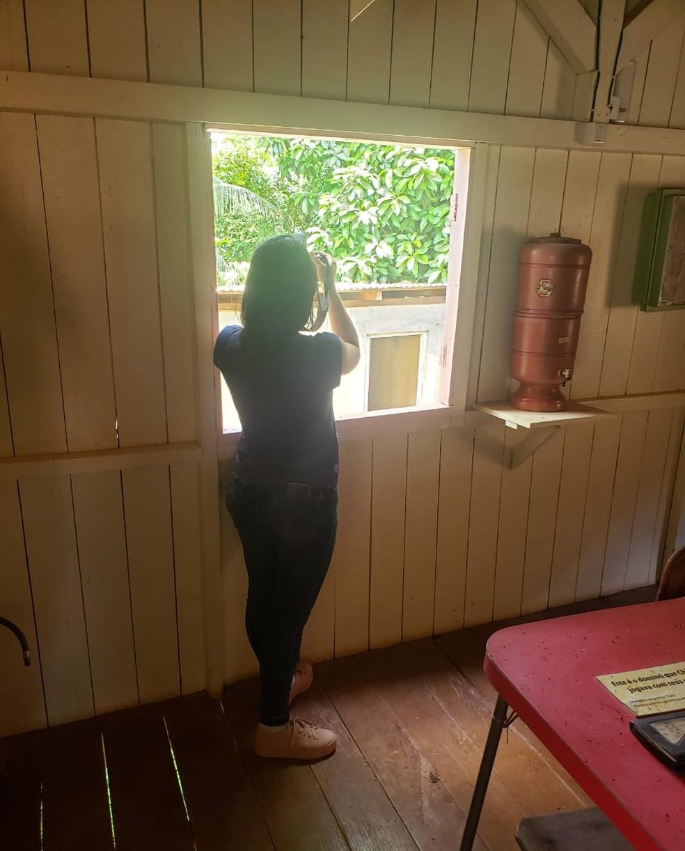 Casa do Chico Mendes é aberta apenas em casos especiais para estudos, diz irmã  — Foto: Elenira Mendes/Arquivo pessoal