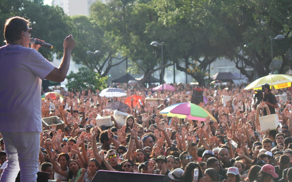 Pastores também farão pregações durante o evento em Goiânia — Foto: Reprodução/Igreja Fonte da Vida