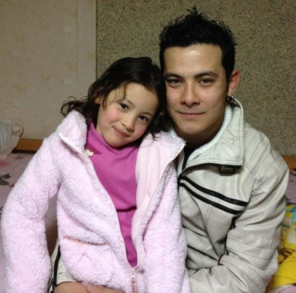 Brasileiro terá que entrar com um processo na justiça japonesa para pedir a guarda da filha — Foto: Arquivo Pessoal