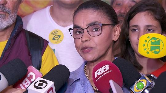 Marina Silva diz que dará 'prioridade' à reforma da Previdência se for eleita