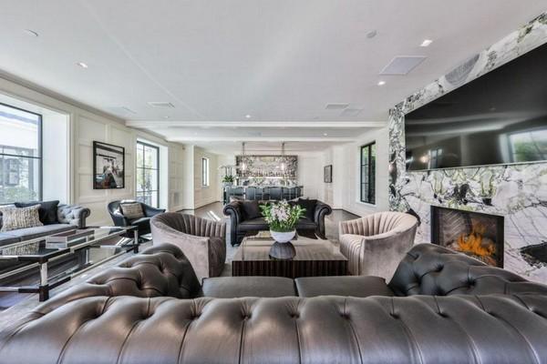 A casa vendida pelo ator Danny DeVito ao bilionário australiano James Packer (Foto: Divulgação)