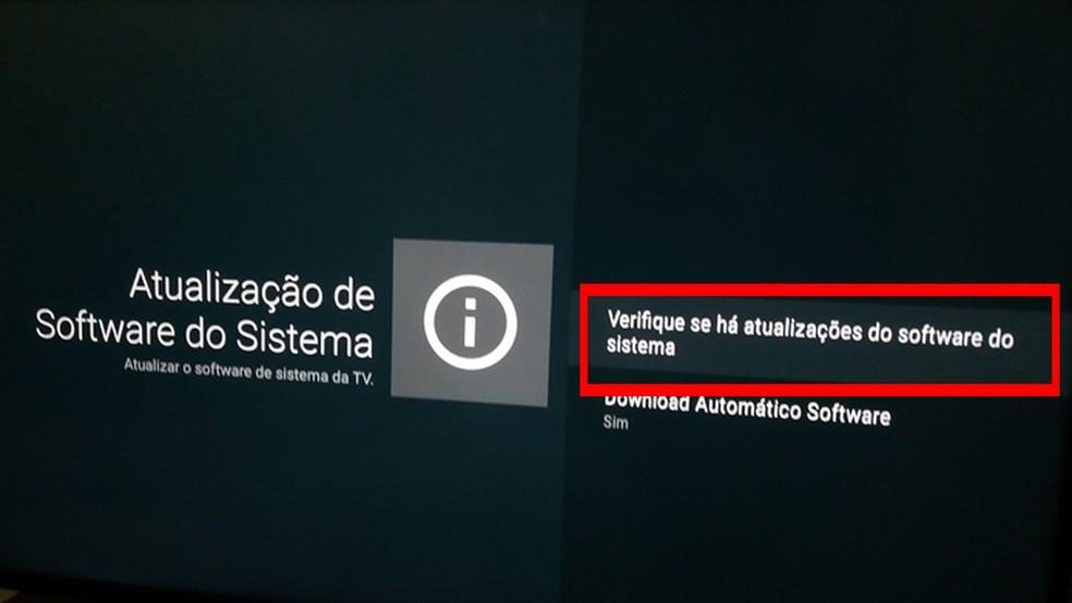 Android TV recebe atualizações de sistema — Foto: Reprodução/João Kurtz