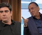 Marcelo Adnet e Galvão Bueno | Reprodução