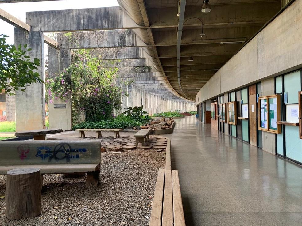 Campus Darcy Ribeiro da Universidade de Brasília (UnB), em imagem de arquivo — Foto: Geraldo Bechker/TV Globo