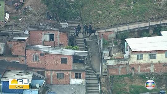 PM faz operações em comunidades do RJ na manhã desta sexta-feira