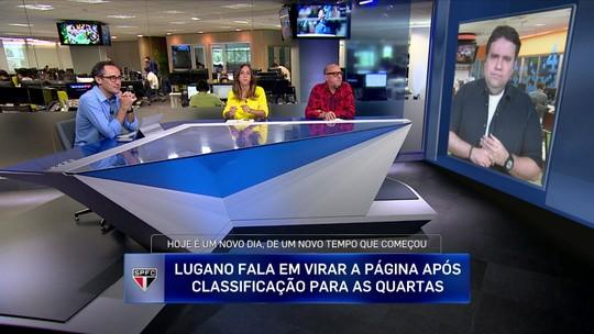 Jornalista define situação de Jean no São Paulo: ''Subiu no telhado de patins e está chovendo''