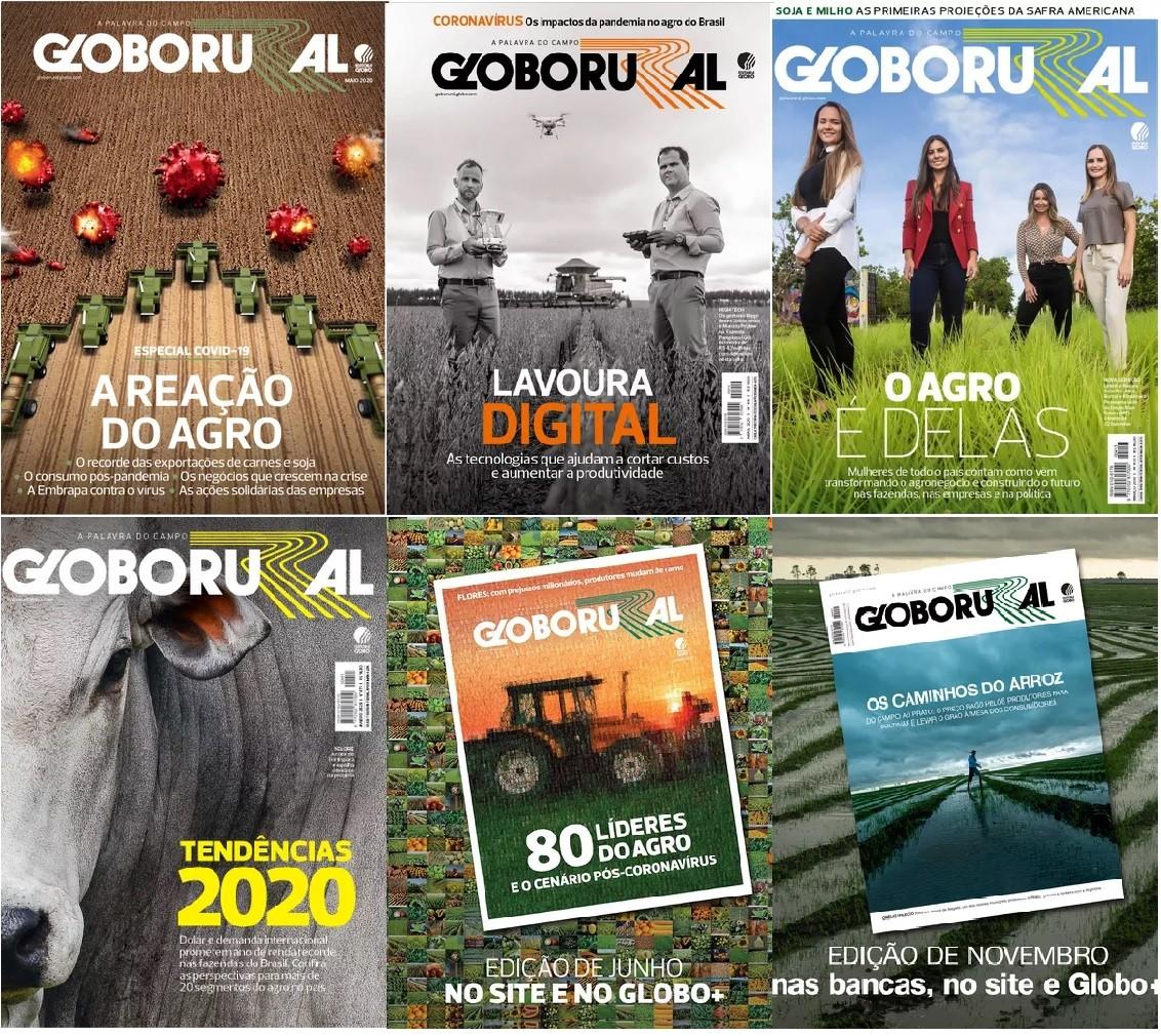 capas-gr-2020 (Foto: Globo Rural)