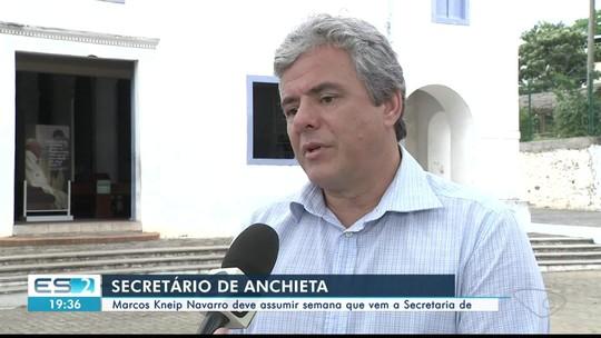 Atual secretário de Desenvolvimento de Achieta assume secretaria estadual, no ES
