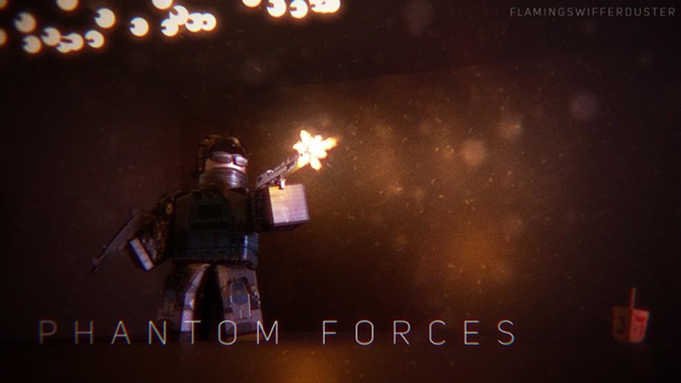 Phantom Forces é um dos jogos de tiro mais populares do Roblox — Foto: Reprodução/Roblox