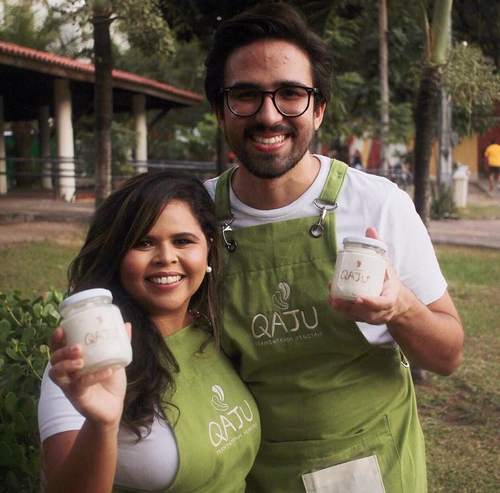 Fernanda e Augusto, proprietários da Qaju — Foto: Divulgação