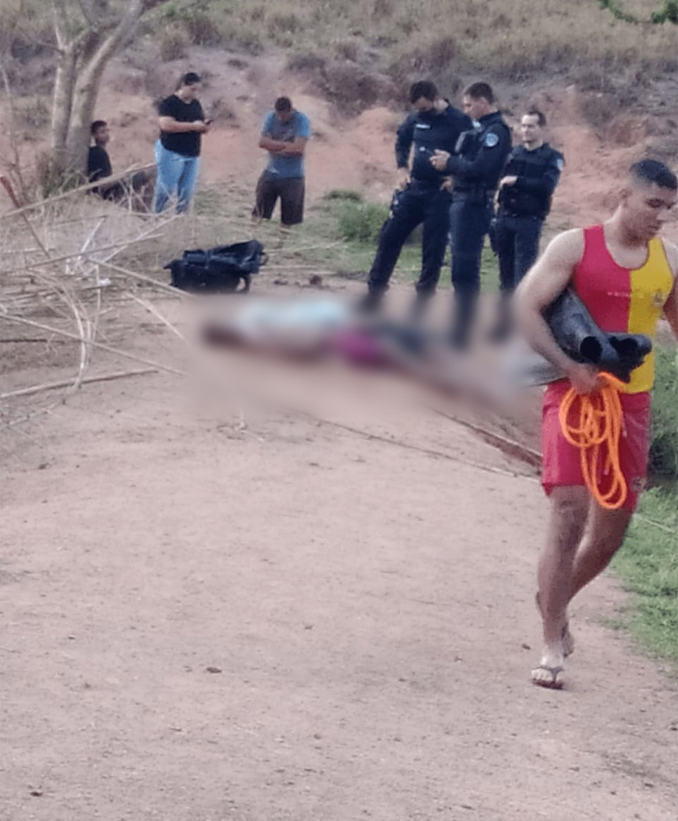 Dois corpos são encontrados em represa de Machadinho D'Oeste, RO — Foto: Reprodução/Redes Sociais