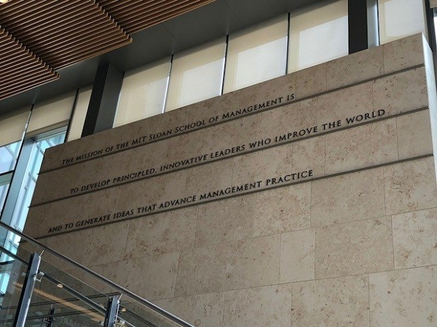Sloan School of Management, do MIT (Foto: Fernanda Lopes de Macedo Thees)
