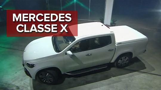 Mercedes-Benz mostra versão final de picape de luxo que chega ao Brasil em 2019