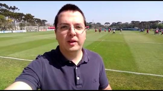 Com Thiago Heleno fora e DM vazio, Furacão deve ter duas trocas contra o Santos