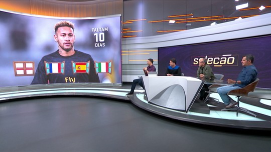 Comentaristas do Seleção SporTV criticam indefinição de Neymar e veem Real Madrid como melhor destino