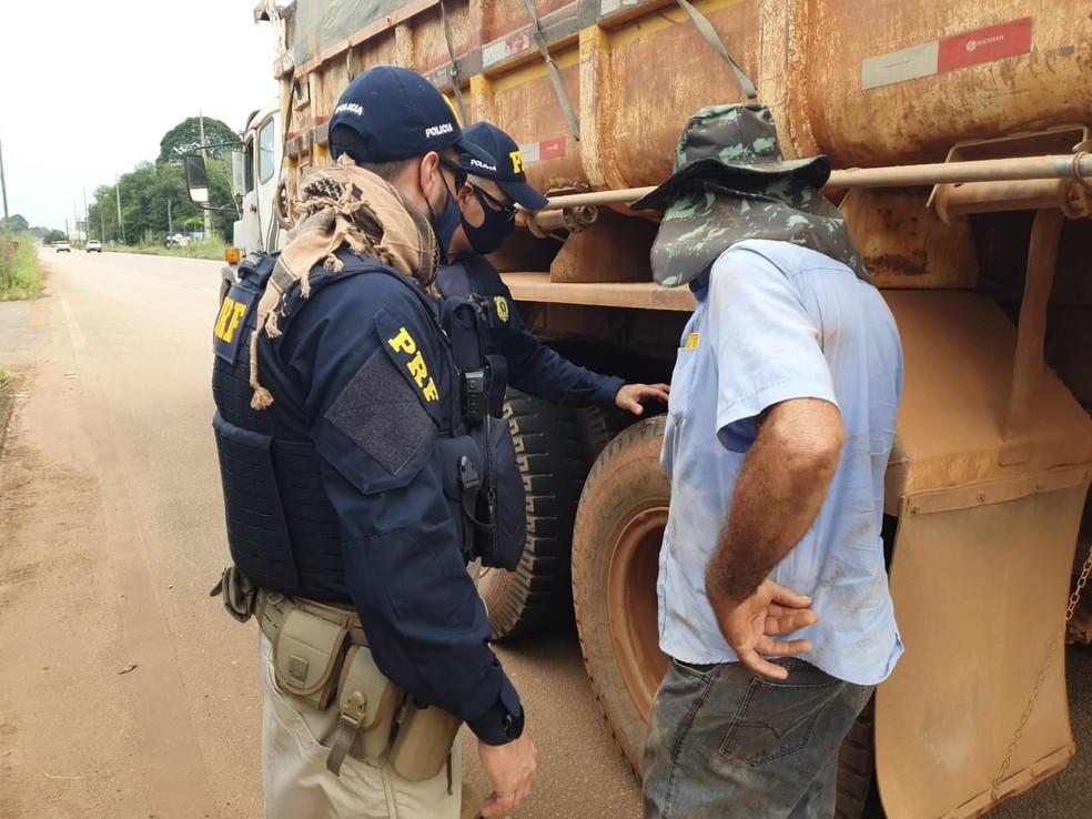 Operação Jornada Segura em Rondônia — Foto: Divulgação/PRF