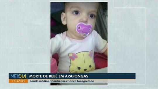 Pais e avó são suspeitos de morte de criança em Arapongas
