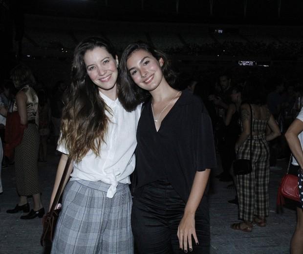 Marina Moschen e Nathalia Dill (Foto: AgNews/Wallace Barbosa)