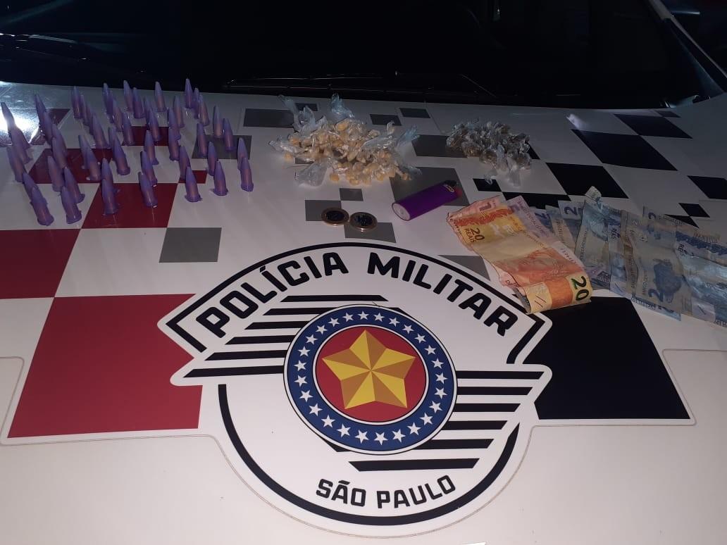 Polícia Militar prende homem por tráfico de drogas em Itu