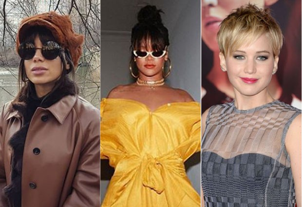 Anitta, Rihanna e Jennifer Lawrence (Foto: Reprodução / Pinterest)