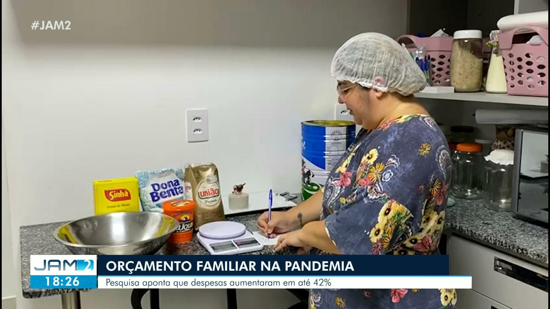 VÍDEOS: Pesquisa aponta que despesas familiares aumentaram na pandemia; veja destaques do JAM 2