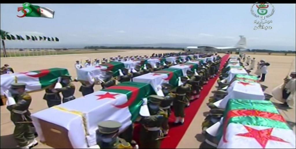 França devolve à Argélia corpos de combatentes mortos durante colonização
