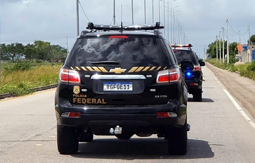 Português procurado pela Interpol é preso pela PF em Natal — Foto: Divulgação/PF