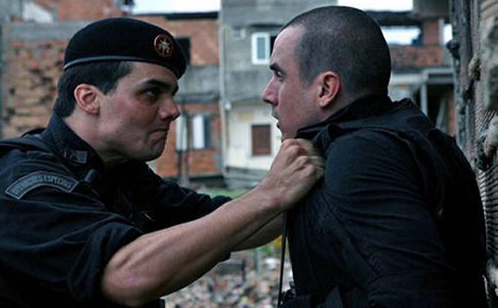 Cena do filme 'Tropa de Elite' — Foto: Universal/Divulgação
